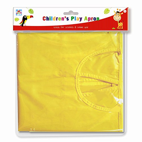 1-5 YR Waterproof Childrens Easy Clean Play Apron Pockets Art & Craft Creative