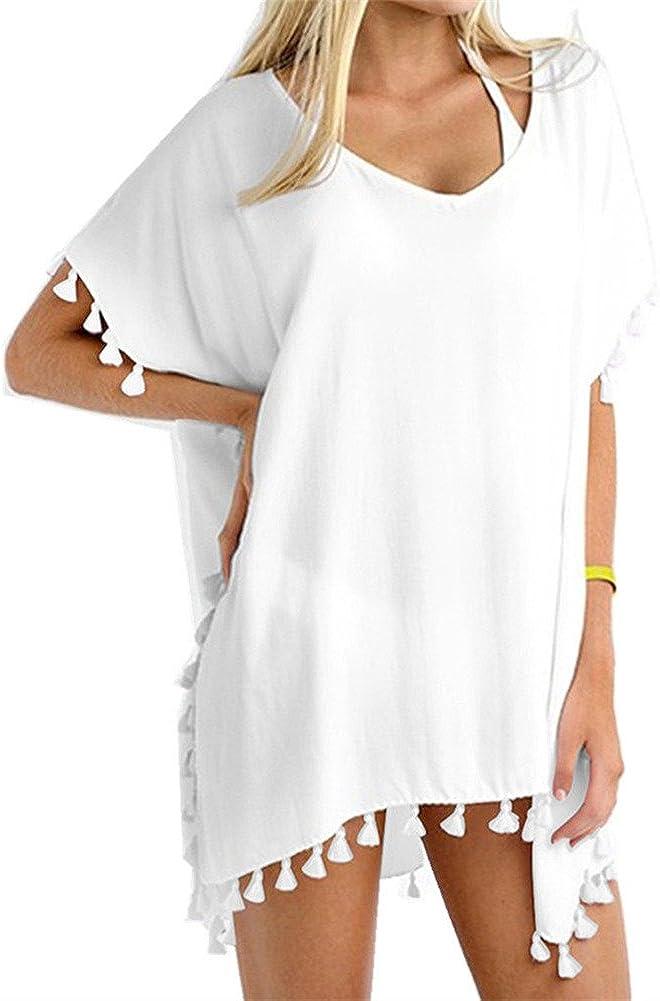 Yincro Women's Chiffon Swimsuit Beach Bathing Suit Cover Ups for Swimwear