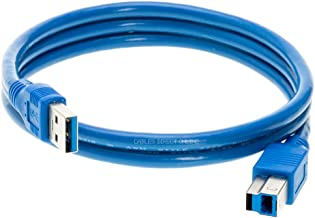 USB 3.0 A Male to A/B/C Male Cable Cord 3FT 6FT 10FT Data Wire Charger Printer Laptop Pc (6FT, (A - Male) to (B -Male))