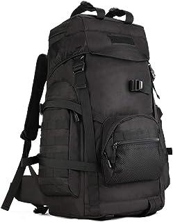 YUHAN Taktisk ryggsäck, 60 L vandring ryggsäck militär arméstrid ryggsäck MOLLE trekking ryggsäck vandringsryggsäck