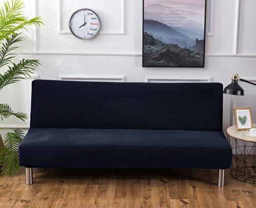 SHANNA Funda para sofá de futón, elástica, sin Brazos, Antideslizante, elástica, Plegable,...