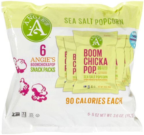 Best Prices! Angie's BOOMCHICKAPOP Sea Salt Popcorn - 6 CT