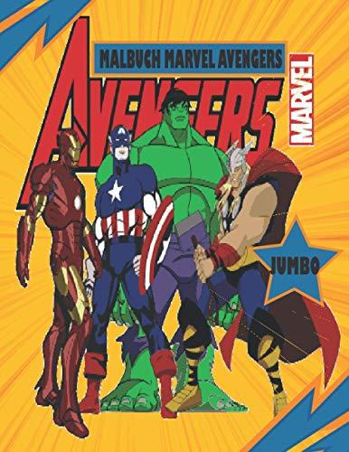 Marvel Avengers Malbuch: Malbuch für Kinder und Erwachsene Dieses Buch enthält mehr als 50 verschiedene Bilder des Superhelden in erstaunlicher ... Batman, Spiderman, Hulk,Marvel Super Heroes