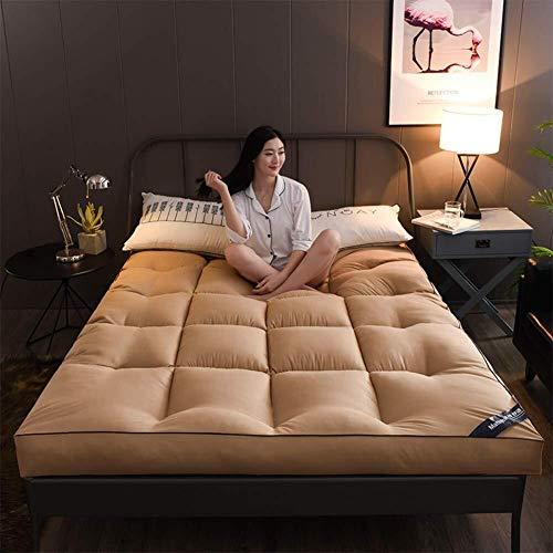 J-Kissen Verdicken 10cm Tatami Bodenmatte, Weich Futon Schlaf Pad Tatami Boden Matratze, 3D Matratze Schlafeinzelbett-Matten-Bett-Kissen (Color : E, Size : 90x200cm(35x79inch))