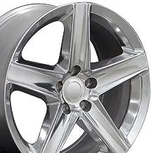 20x9 Wheel Fits Jeep Grand Cherokee - Grand Cherokee Style - Polished Rims - Set of 4