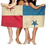 Toallas De Baño,Toallas De Ducha,Toalla De Ducha con Bandera De Panamá Toalla De Playa Multipropósito para Baño,Hotel,Gimnasio Y SPA,80X130Cm