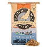 Scratch and Peck Feeds Naturally Free Organic Starter Chick Feed - 25-lbs - Non-GMO Project Verified, Soy Free and Corn Free - 2002-25