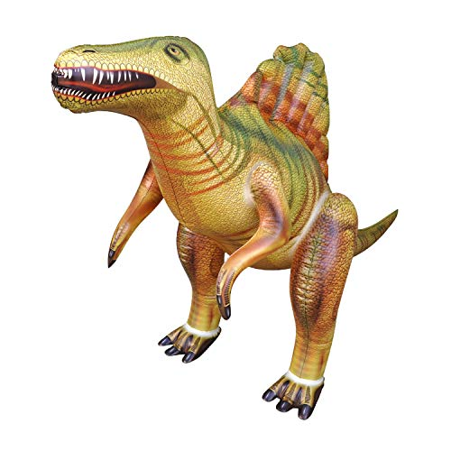 Jet Creations DI-SPINO Spinosaurus Jurassic Theme Dinosaur Inflatable Air Stuffed Animal Size 53 inch