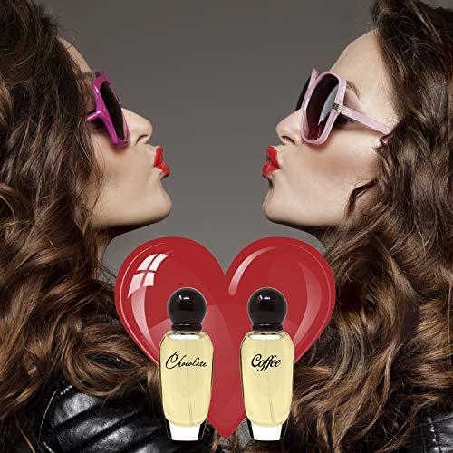 SERGIO NERO • Parfümset Kaffee & Schokolade für Frauen: 2 Flakone Eau de Toilette, jeder 30 ml • Perfektes Geschenk für Liebhaber süßer Gourmet-Aromen