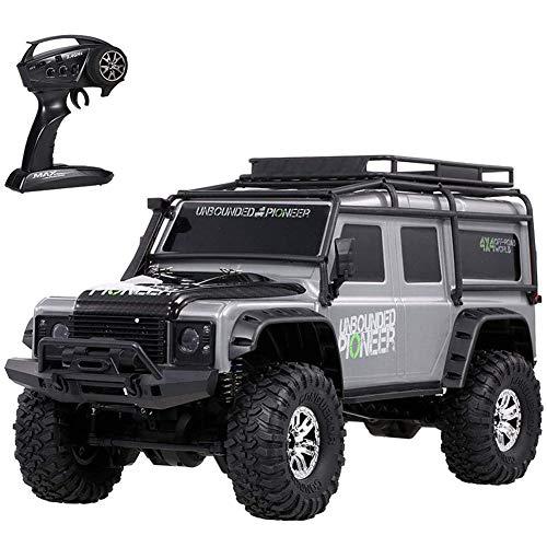XLST Coches RC Escala 1:10 Profesional Todoterreno Coche Teledirigido 2,4 GHz 4WD...