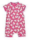 Sigikid Baby-Mädchen Schlaf-Overall, Schlafanzug aus Bio-Baumwolle für Kinder Pigiamino per Bambino e Neonato, Rosa/Pony, 80 cm Bimba