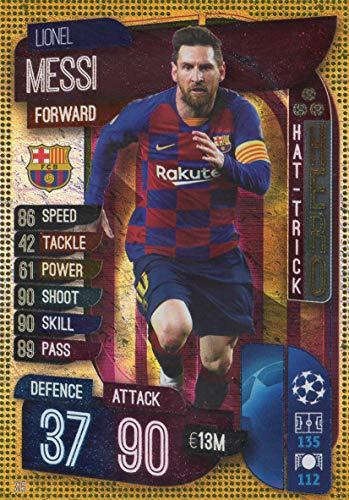 MATCH ATTAX 19/20 Lionel Messi HAT-Trick Hero Barcelona - UK Edition