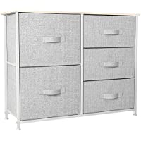 Yitahome Fabric Storage Tower with 5 Drawers