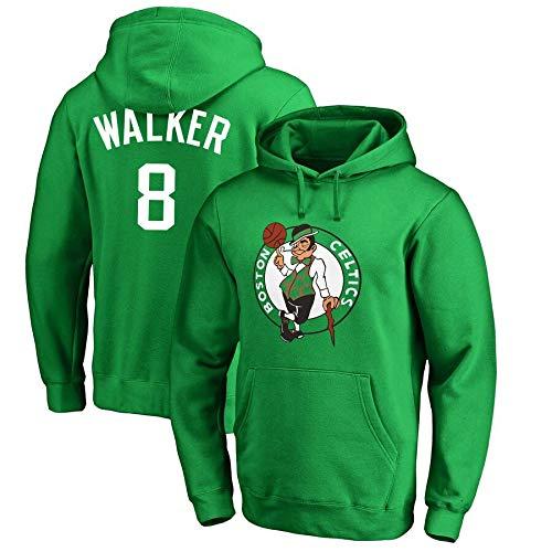 DMF Sudadera con Capucha de Baloncesto Unisex Boston Celtics Zach LaVine 8# Sooped Pullover Flow Baloncesto Jersey Camiseta, cumpleaños (Color : B, Size : M)