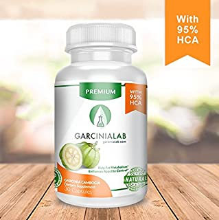 Garcinia Cambogia 95% HCA 100% Pure Garcinia Extract 1540 MG - Weight Loss Supplement Which Supports Fat Blocker, Increases Metabolism, Curbs Appetite. Highest Absorption & Effectiveness.