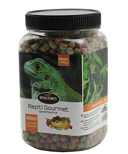 REPTILES PLANET Nourriture Repti Gourmet Formule aux Fruits pour Iguane Juvénile 640 ml