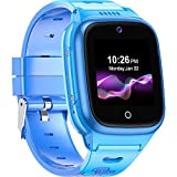 4G Kids Smartwatch -- SpeedTalk SIM Card Included GPS Locator 2-Way Face to Face Call Voice & Video...