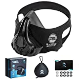 Ravine Sports Fitness Training Mask | High Altitude Simulation Mask for Fitness, Gym, Exercise, Sports, Cardio, Jogging, Hiking, and Other Outdoor Activities
