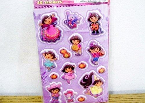 Stickety Doo Da Halloween Puffy Stickers - 30 Stickers Dora the Explorer Tico