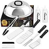 Aoocan Griddle Accessories Set, Flat Top Griddle Accessories, Grill Griddle Tools Cooking Kit with...