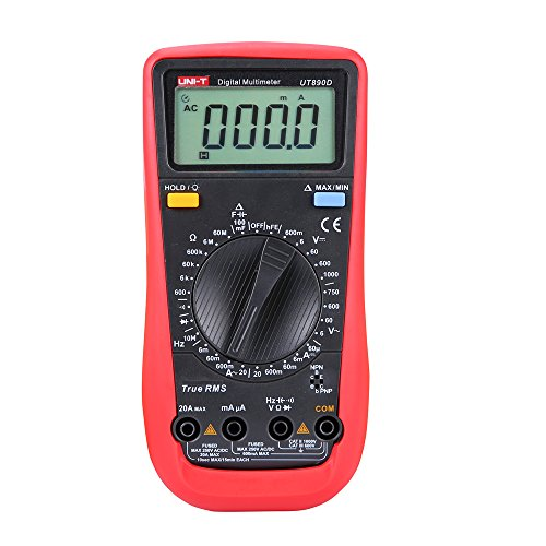 UNI-T UT890D - Multímetro digital de mano (REL CA/CC)