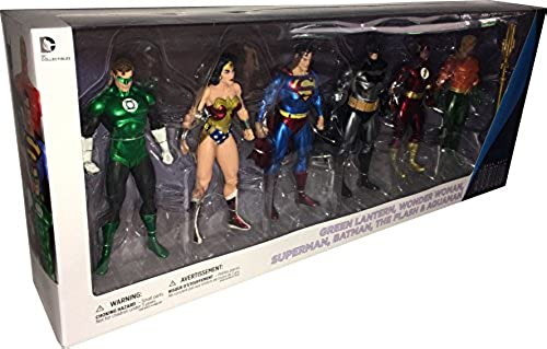 DC Comics JUSTICE LEAGUE 6-teiliges Actionfigurenset  Nach den Comic-Vorlagen von Alex Ross