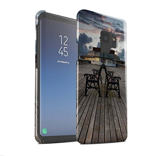 Stuff4 Phone Case/Cover/Skin/SG-3DSWG / Engels Seaside Collection Samsung Galaxy S9/G960 Paviljoen theater