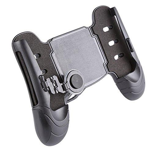 Phone Gamepad,BEETEST Ergonomische Mobile Smart Phone Game Controller Joystick Gamepad Griff Halter Gaming Grip Handgriff Ständer Unterstützung 4,7-6,5 Zoll Smartphone