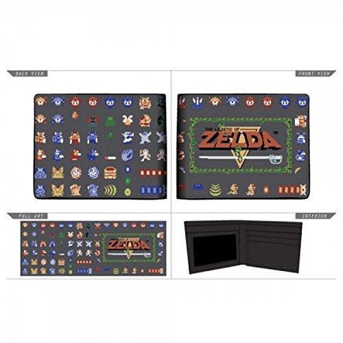 Wallet The Legend of Zelda Nintendo Sublimated Bi - Fold Accessoire Hommes Couleur Nouveau