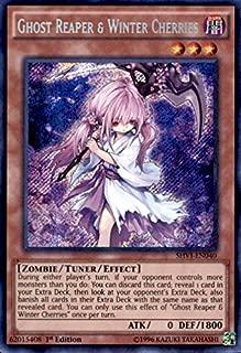 Yu-Gi-Oh! Ghost Reaper & Winter Cherries (SHVI-EN040) - Shining Victories - 1st Edition - Secret Rare