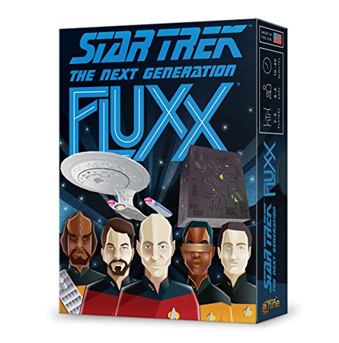 Looney Labs B07F2SJ9TF Star Trek: Next Generation Fluxx, Multicolore