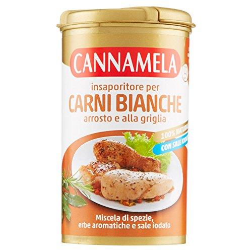 Cannamela Insaporitore per Carni Bianchi, Arrosto e alla Griglia - 90 gr