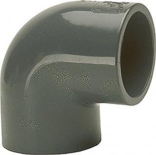 PVC U - złączka klejąca kąt 90°- 50mm - obustronna mufa klejąca