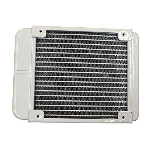 Glodenbridge - Radiador intercambiador de Calor, 18 Tubos de Aluminio, refrigeración...