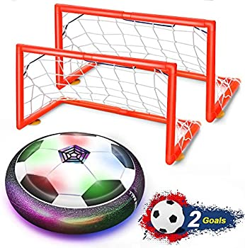 Feiqio Kids Toys Hover Soccer Ball Set with 2 Goals