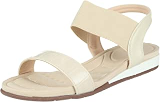 Club Aldo Embossed Leather Double- Strap Flat Sandals for Women