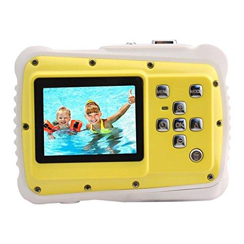 WTDC-5262J Enfants Appareil Photo Numérique Appareil photo numérique étanche avec zoom numérique 4x MP/Écran...