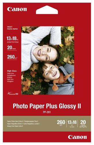 Canon Fotopapier PP-201 / 2311B018 / 13,0 x 18,0 cm / 260 g/m² hochglänzend