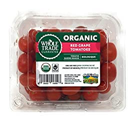 PRODUCE Organic Grape Tomatoes, 1 Pint
