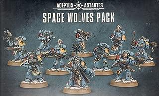 Games Workshop Warhammer 40K: Space Wolves Pack (2015 Edition) SW