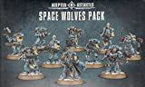 GAMES WORKSHOP 99120101137 Space Wolves Pack Mesa y Juego en Miniatura