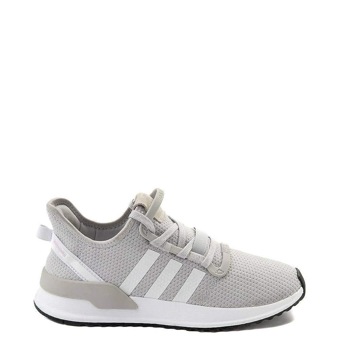 バリー無心省[アディダス] レディース靴?スニーカーU_Path Athletic Shoe Uパスアスレチックシューズ Gray/White グレー US 8.5(25.5cm) [並行輸入品]