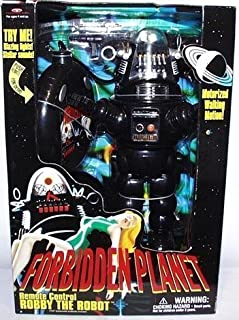 Robby the Robot Forbidden Planet Remote Control with Blazing Lights and Sounds