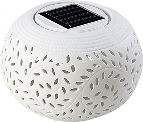 Lunartec Lampe à LED Solaire Méditerranée