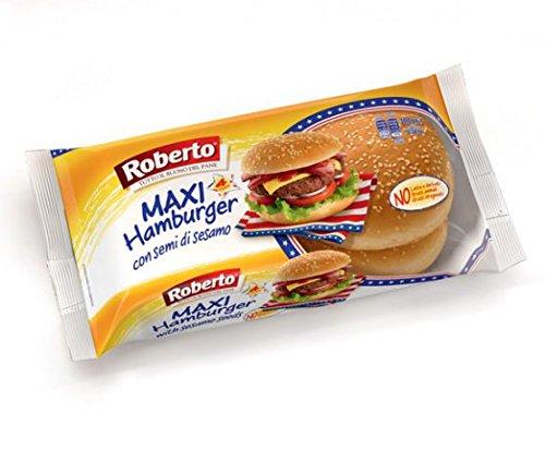 Roberto Pane Maxi Hamburger Sesamo - 300 g