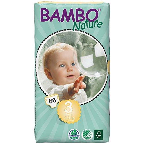 Bambo Nature Midi tall pack 3 66pezzo(i)
