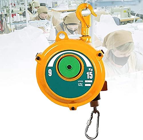 LLLZM Balanceador de Resorte, Herramienta de Mano Torre del balanceador Grado Industrial suspendida para el hogar, Coche, mecánica, reparación.
