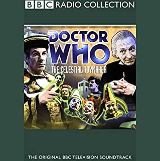 Doctor Who: The Celestial Toymaker                   By:                                                                                                                                 Brian Hayles,                                                                                        Donald Tosh                               Narrated by:                                                                                                                                 William Hartnell,                                                                                        full cast                      Length: 1 hr and 39 mins     38 ratings     Overall 4.0