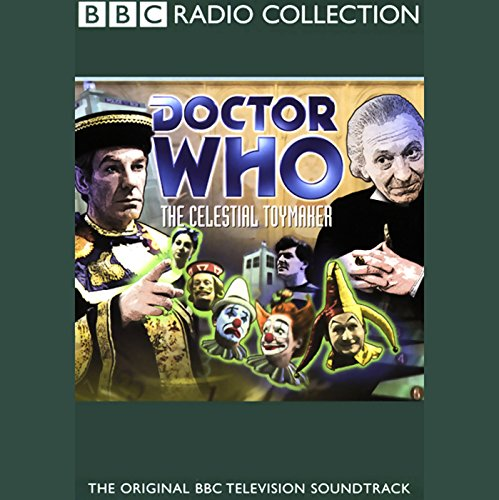 Doctor Who: The Celestial Toymaker audiobook cover art