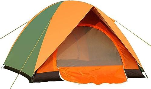 YANABC Tente de Camping Tente de Tourisme de pêche en Plein air à Deux étages Super léger